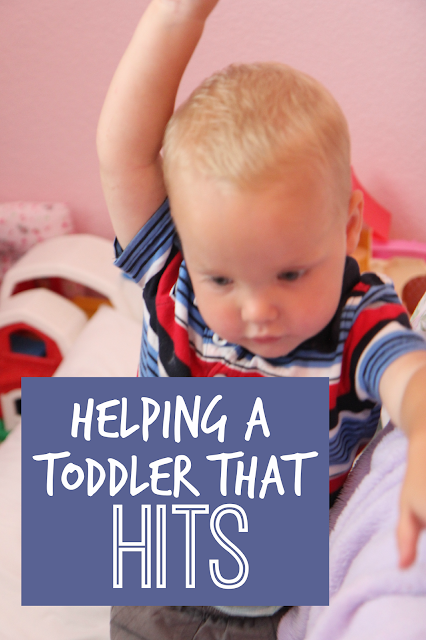 how to stop toddlers from hitting parents
