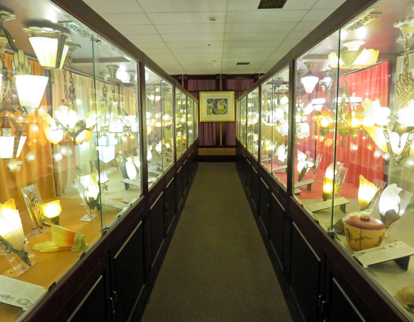 The daily rant visually artistic lighting several rows of display cases displayed lighting fixtures from the great depression years of 1928 to 1938 their promotional flyer for the museum states arubaitofo Choice Image