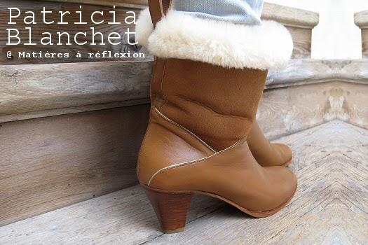 Soldes boots Patricia Blanchet fourrées mémère !