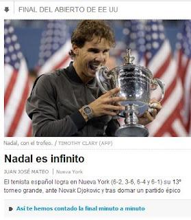 Segunda versión de la portada digital de El País
