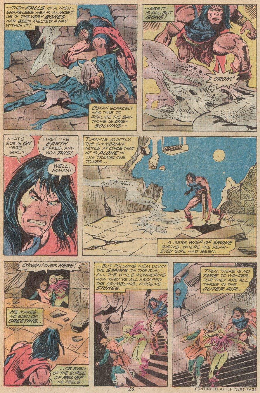 Conan the Barbarian (1970) Issue #56 #68 - English 17