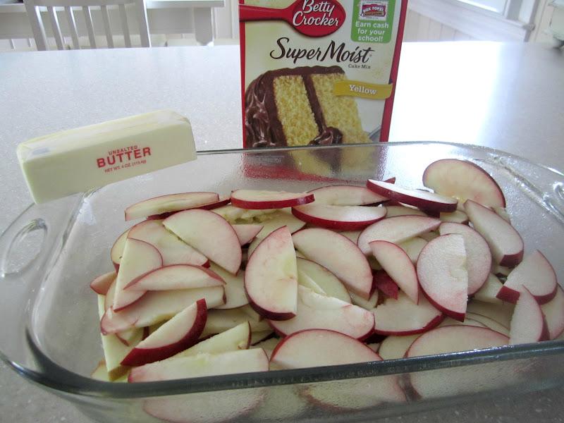 Easy Apple Cake Using Box Cake Mix