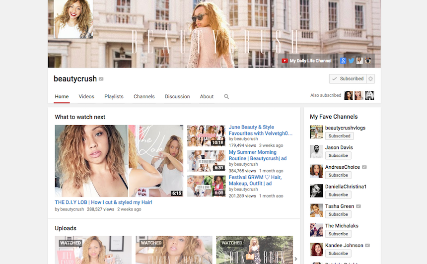 you tube, youtube, vloggers, vlog, current obsession, The Beauty Crush,