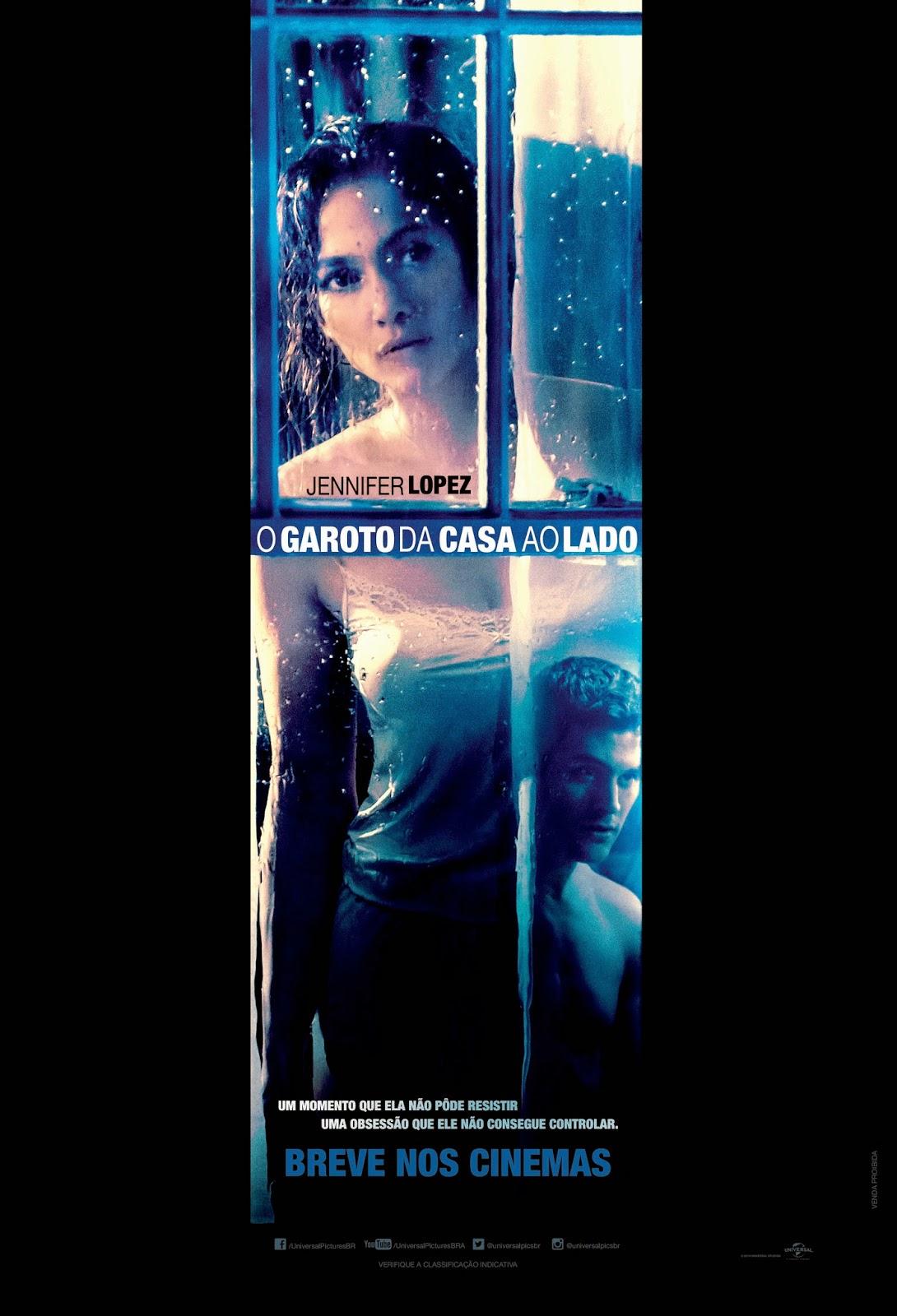 Pôster/capa/cartaz nacional de O GAROTO DA CASA AO LADO (The Boy Next Door)