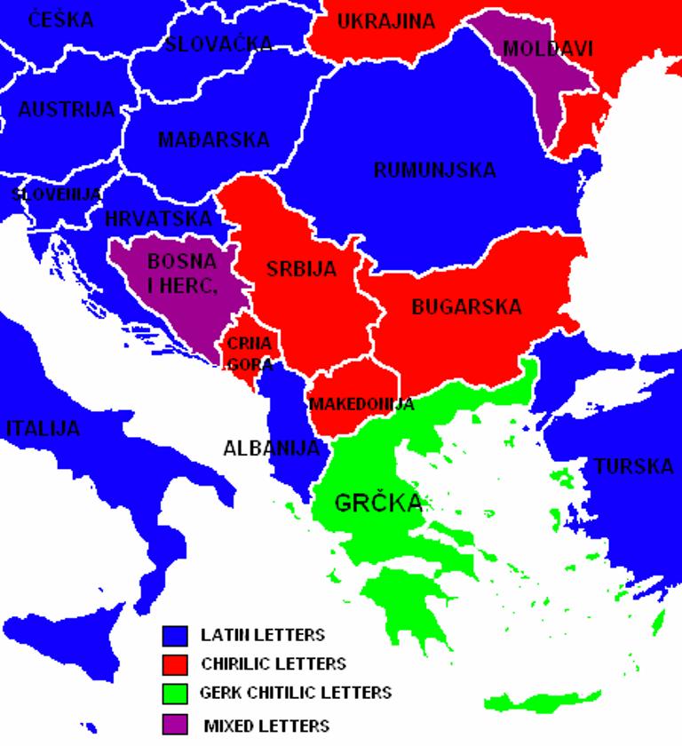 Southeastern Europe Map