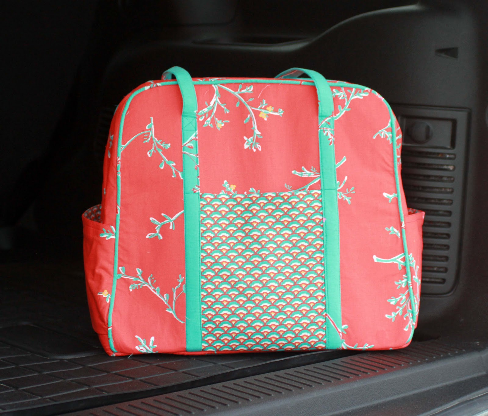 Amy Butlers Weekender BagTips, Hints and a bit of a Tutorial