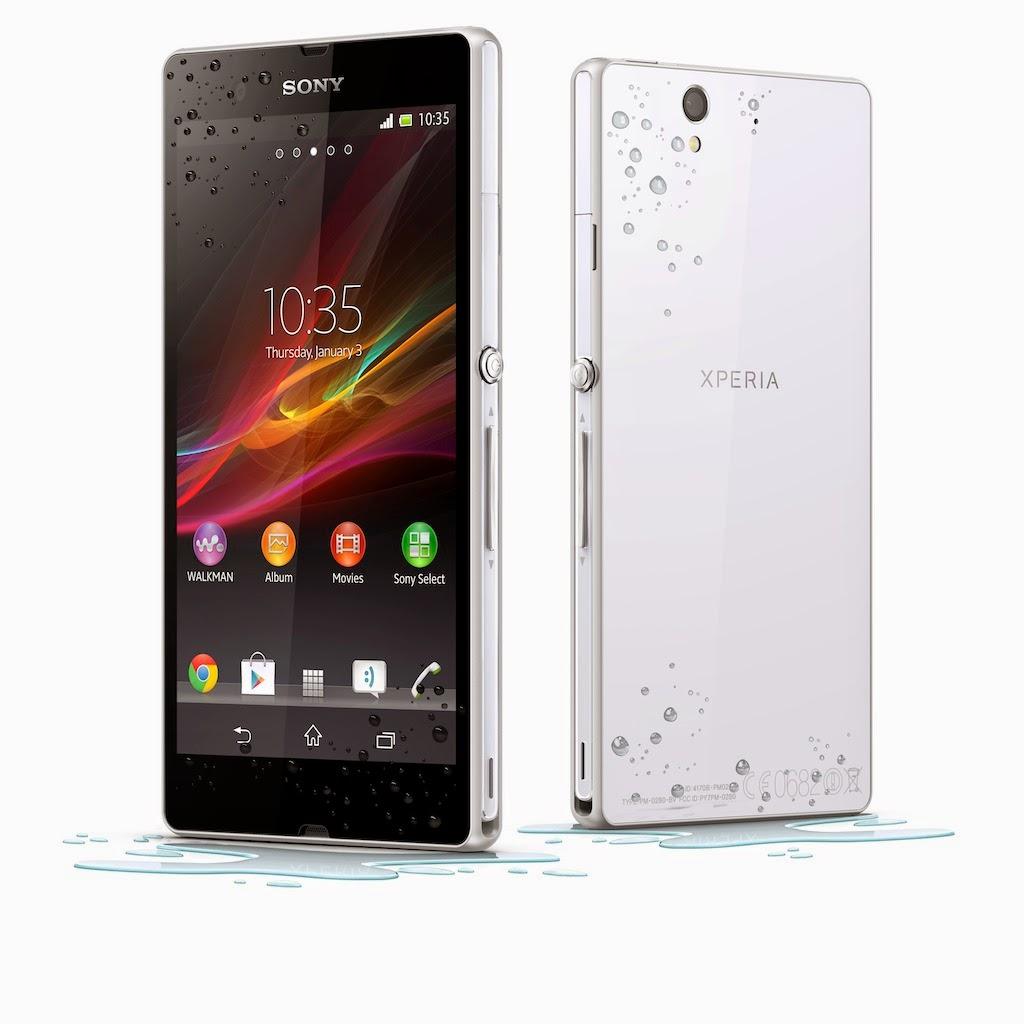 Harga Sony Xperia Z Terbaru - Juli 2014