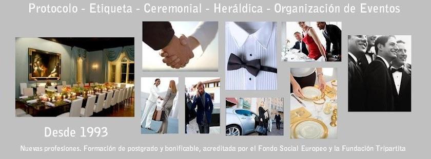 Protocolo - Etiqueta - Ceremonial - Heráldica   Organización de eventos