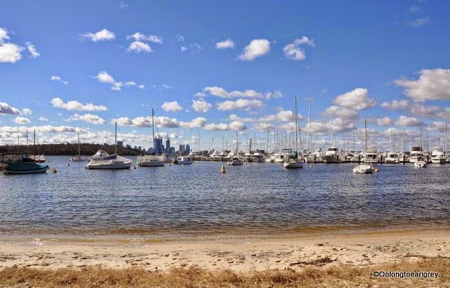 Swan River Skyline, Perth, Western Australia
