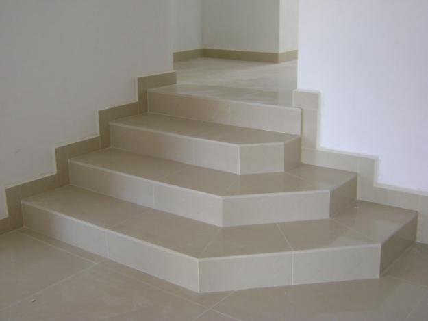 Cer mica work for Pisos para escaleras de concreto