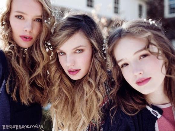 peinados 2015 bohemios chic