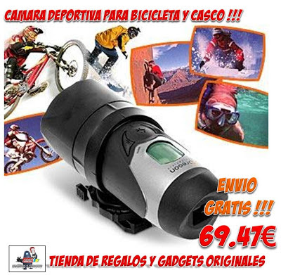 CAMARA HD PARA DEPORTES EXTREMOS