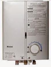 harga water heater gas merk rinnai