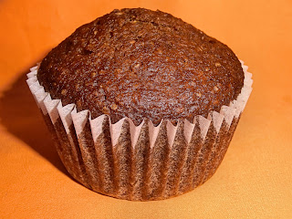 Spiced pumpkin fat free muffins
