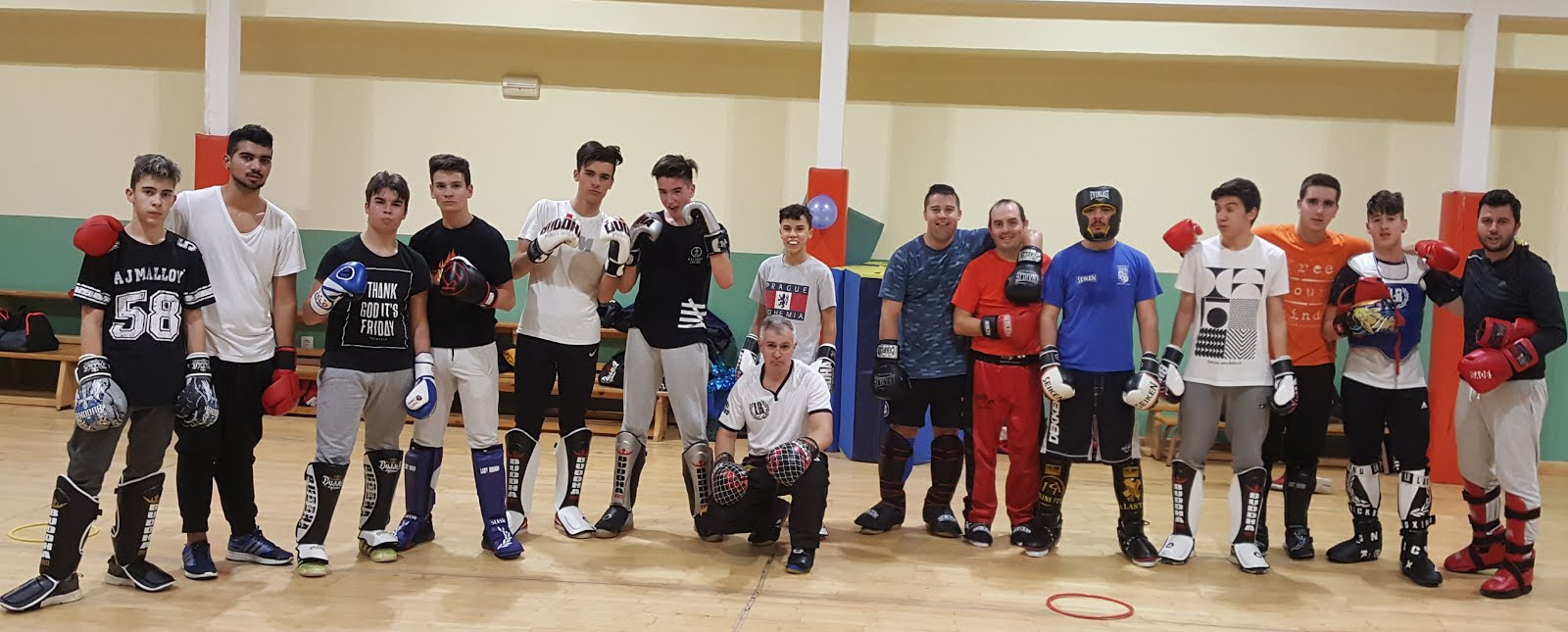 Temporada 2017/18 Kick Boxing