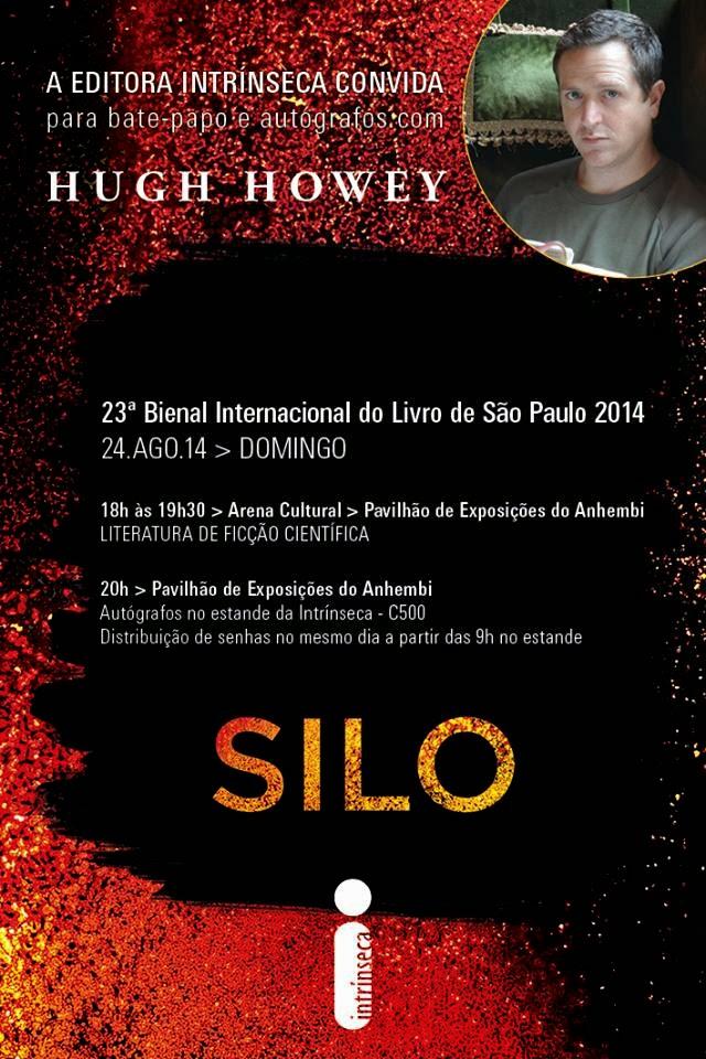 Bate-papo e Sessão de Autógrafos com Hugh Howey, autor de Silo