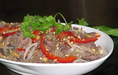 Vietnamese Salad Recipes - Gỏi bắp bò