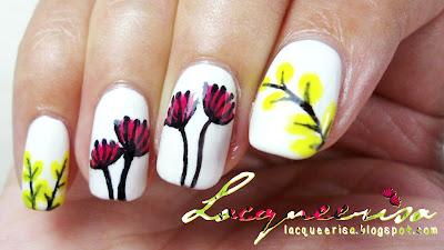Lacqueerisa: Illustrated Flowers