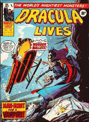 Marvel UK, Dracula Lives  #43