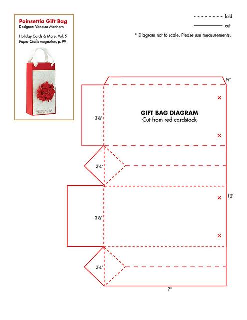 Moldes bolsitas de carton corrugado - Imagui