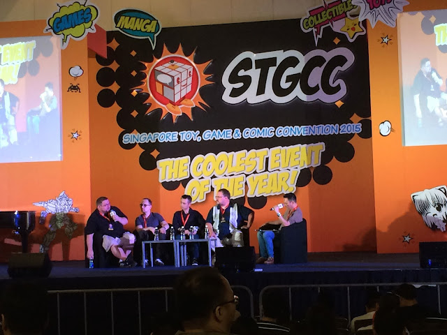 Singapore Toy, Game & Comic Convention STGCC 2015 adam hughes cb cebulski
