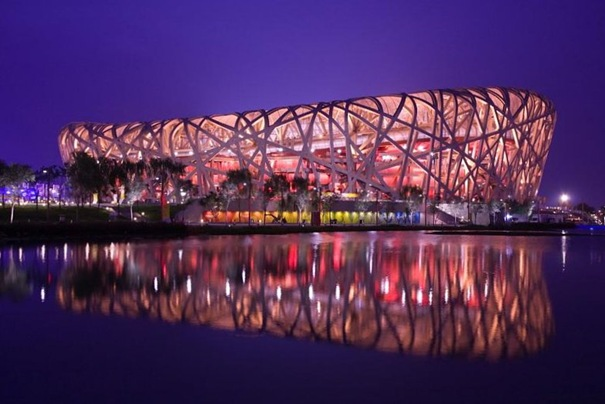 Birds Nest Olympic Stadium Beijing China