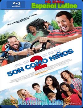 Son Como Niños 2 (2013) BrRip 1080p Español Latino