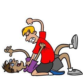 Resultado de imagem para imagem, desenho, briga de alunos no corredor da escola