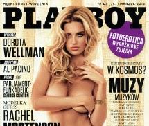 Rachel Mortenson Playboy Polónia Março 2015