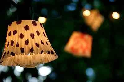 Jak samemu zrobić lampę, klosze własnej roboty