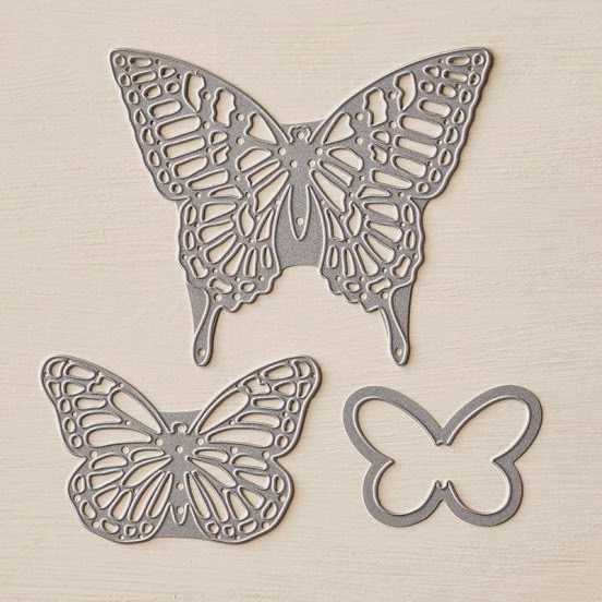 Stampin' Up! Butterflies Thinlits Dies