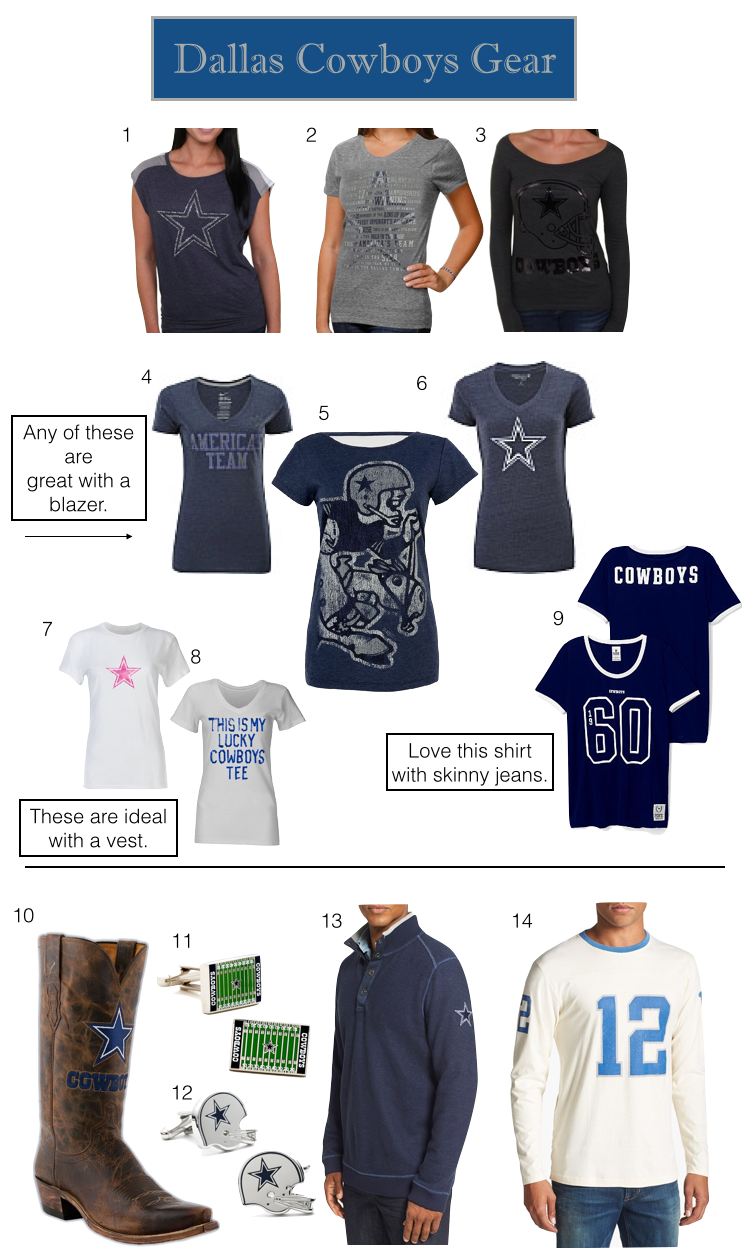 Dallas Cowboys T-Shirts, Dallas Cowboys Women's T-Shirts, Dallas Cowboys Men's T-Shirts
