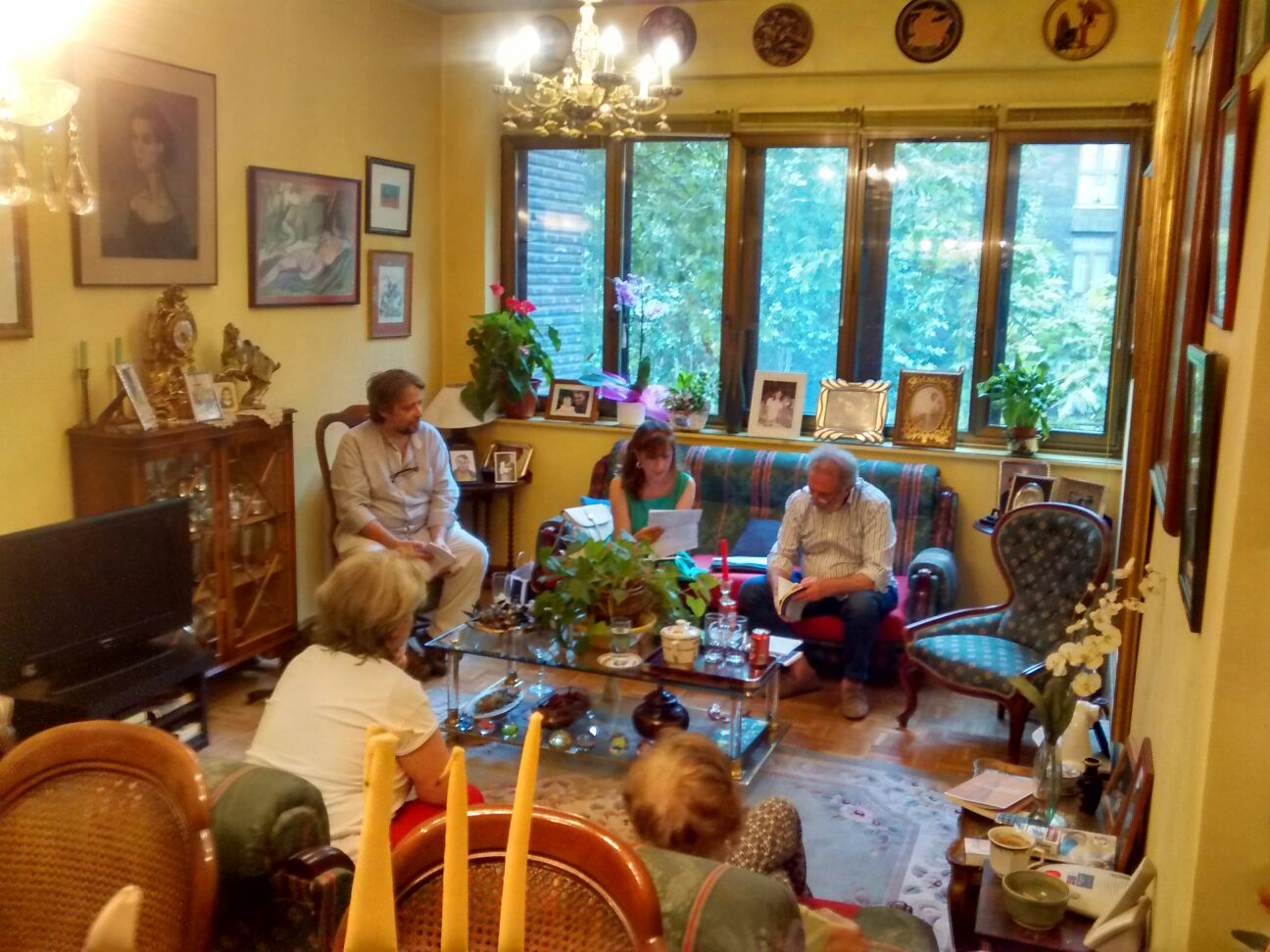 Visita poética a Elvira Daudet