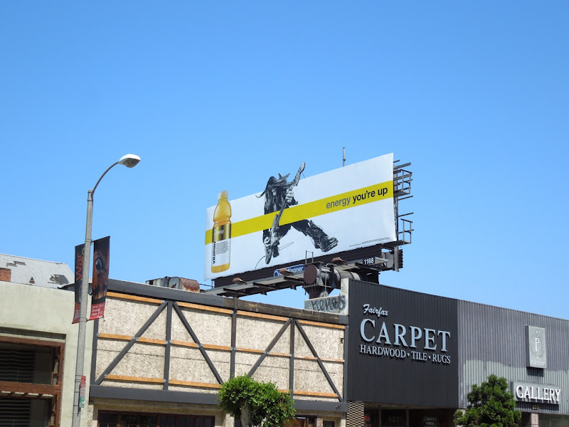 Vitamin Water guitarist billboard