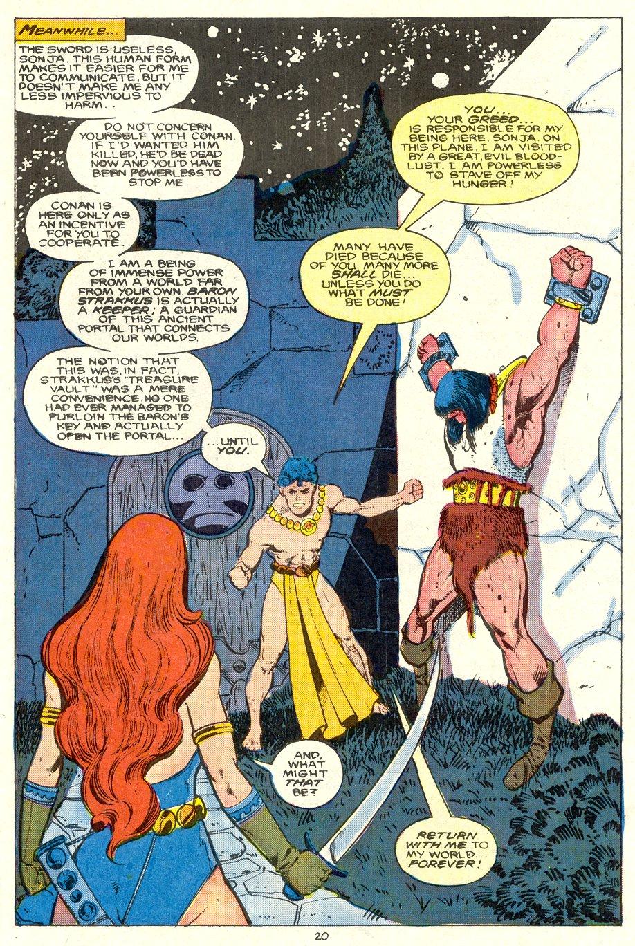 Conan the Barbarian (1970) Issue #204 #216 - English 22