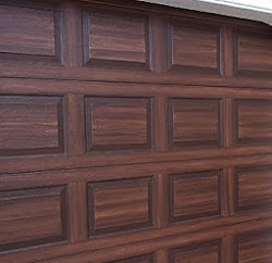 Paint front door to look like wood in tampa everything i for How to paint a garage door to look like wood