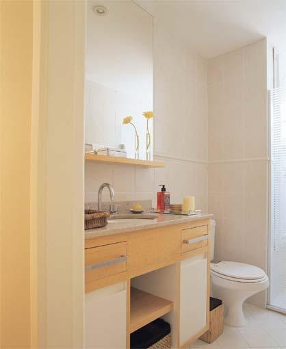 Coisas da Kátia Banheiro pequeno decorado -> Banheiros Simples E Decorados