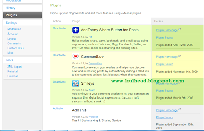 how to install comment luv plugin on blogger: kulhead blog