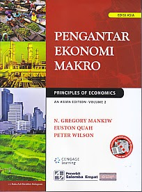 toko buku rahma: buku PENGANTAR EKONOMI MAKRO, pengarang gregory mankiw, penerbit salemba empat
