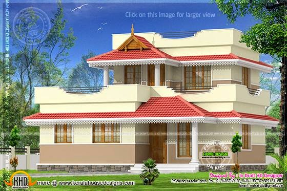 Double storied small house