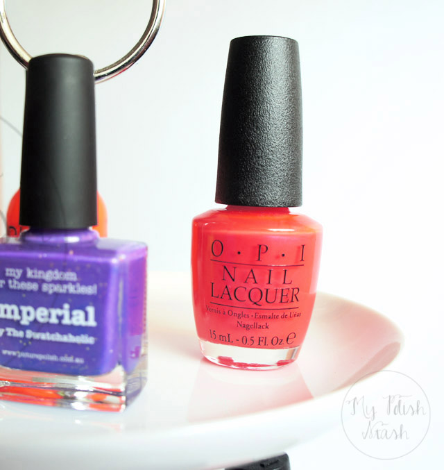 opi down to the coreal