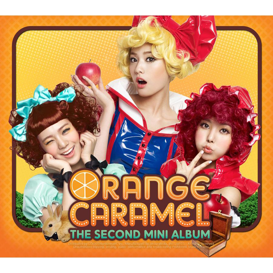 [EP] Orange Caramel – A~ing ♡ (2nd Mini Album) (FLAC)