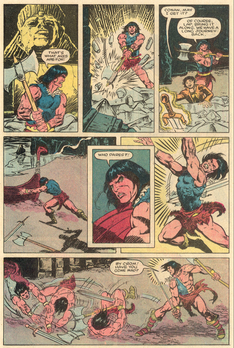 Conan the Barbarian (1970) Issue #164 #176 - English 16