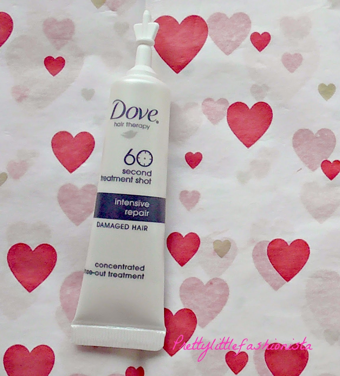 Dove 60 Second Treatment Shot