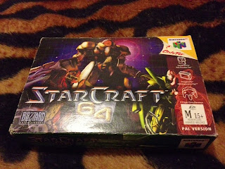 BOXED STARCRAFT AUS VERSION!