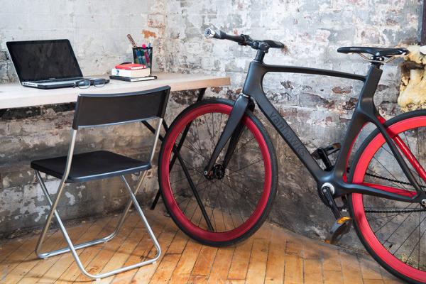 Valour Bicicleta con Tecnología desde Kickstarter