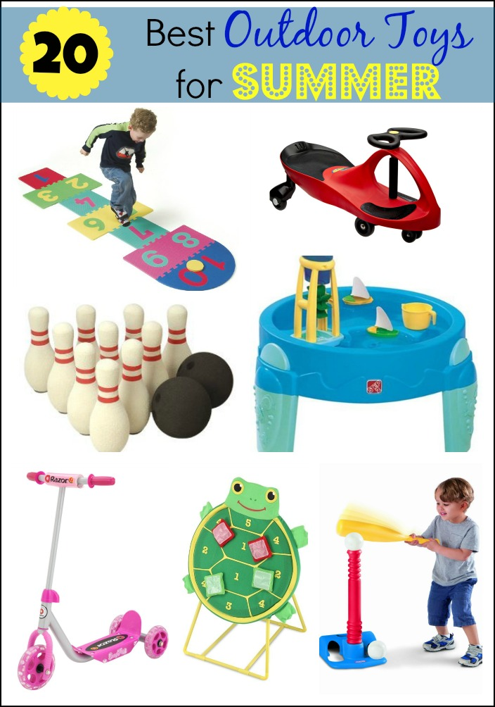 Toys For The Summer : The best outdoor toys for summer mess less