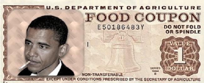Food-Stamp Obama Joke