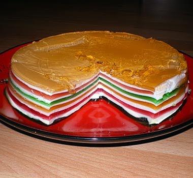Желейний торт рецепт