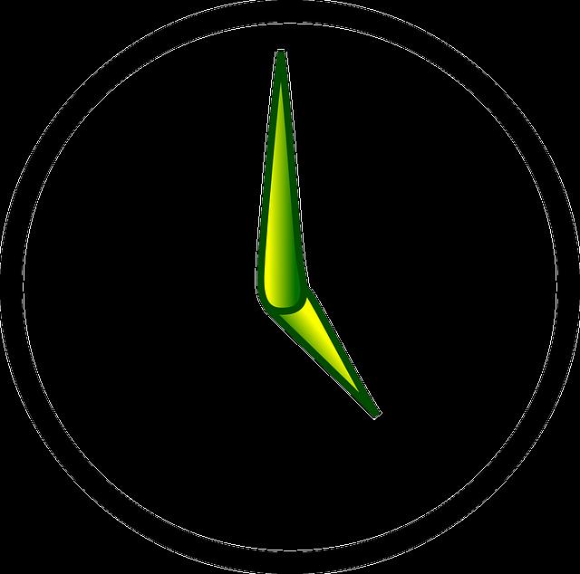 Clock via Pixabay